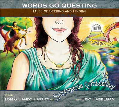 Words Go Questing CD cover